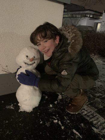 Spaß im Schnee ❄ mit Tristan