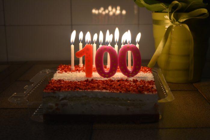Jubiläum 100 Beiträge