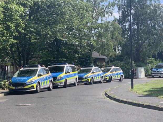 Polizeieinsatz auf dem Schulgelände!
